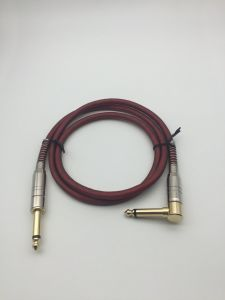 6.35mm Cable, 6.35mm (1/4 inch) to 6.35mm Metal Plug Audio Cable, Microphone Cable pictures & photos