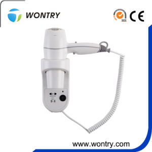 High Quality 1800W Professional Hotel Hair Dryer Wall Mounted Hair Dryer pictures & photos