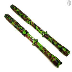 Expandable LED Stun Gun Baton Camo pictures & photos