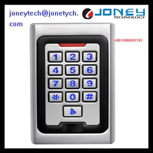 IP68 Contact-Less Metal Password Access Control Supporting Em, HID, Mf Cards pictures & photos