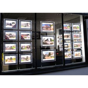 Ceiling Hanging LED Light Box for Estate Agent Window Displays pictures & photos