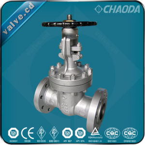 RF Flanged Flexible Wedge Gate Valve pictures & photos