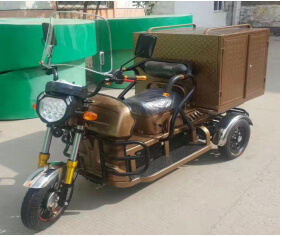 China Factory Luxury 3 Wheel Cargo Motorcycle with Chair pictures & photos