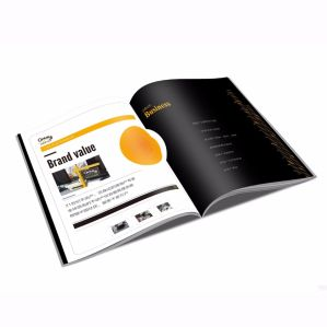 OEM Softcover Full Color Customized Magazine Printing pictures & photos
