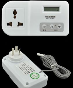BY-LOX15A Digital Thermostat with plug pictures & photos