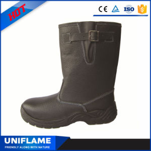 High Ankle Steel Toe Cap Bottom Safety Shoes Ufa068 pictures & photos
