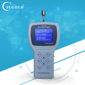 Sugold Y09-3016 Handheld Air Sampler Particle Counter pictures & photos