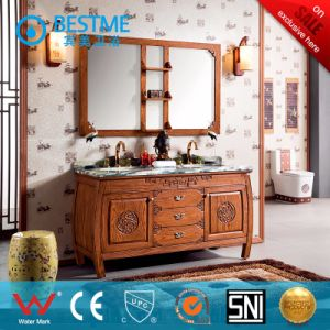 Floor Mounted Classical Bathroom Cabinet From China (BY-F8030) pictures & photos