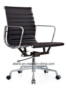 Swivel Eames Leather Office Computer Staff Chair (RFT-B12) pictures & photos