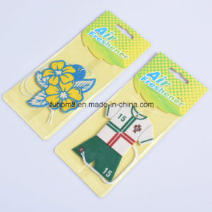 Promotional T-Shirt and Jersey Perfume Paper Air Freshener pictures & photos
