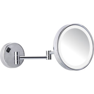 Hotel Wall Mounted Adjustable Single Sided LED Magnifying Mirror pictures & photos