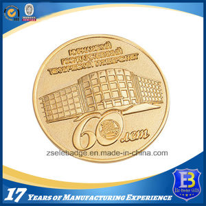 Top Quality Gold Plated Souvenir Metal Coin (Ele-C132) pictures & photos
