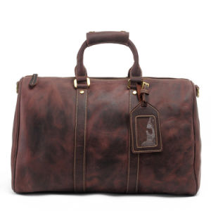 High Quality Cowhide Leather Travel Leather Sport Full Grain Leather Bag (RS-MK8016) pictures & photos