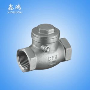 304 Stainless Steel Horizontal Check Valve Dn15 pictures & photos