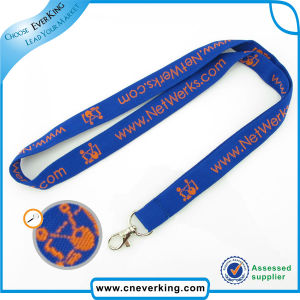 Wholesale Double Woven Label Lanyards pictures & photos