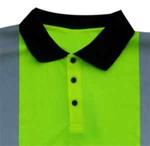 Custom Mens Workwear Cheap Embroidered Safety Polo Tshirt pictures & photos