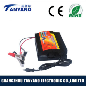 Four-Phase Charging Mode 20A 12V Battery Charger