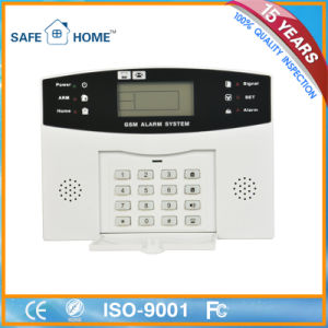 Economic Top Qualified LCD Security Alarm System Mobile/SMS Alert pictures & photos