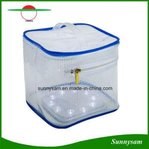 Portable Foldable Solar Lantern 10LED Solar Zipper Bag Light pictures & photos