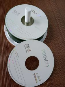 Blank Disc Factory Made in China 1-52X Blank Printable CD-R pictures & photos