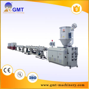 PVC Corrugated Pipe Tube Plastic Production Extruding Making Machine pictures & photos