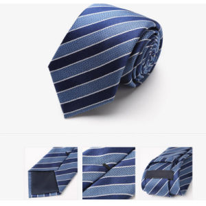 6cm Fashion 100% Woven Silk Neck Tie with Mens pictures & photos