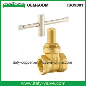 European Quality Brass&Bronze Lock Gate Valve (AV4065) pictures & photos