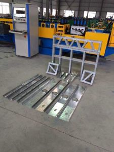Light Steel Frame Building C U-Shape Forming Machine pictures & photos