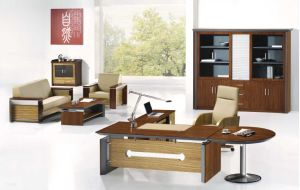 Hot Selling Computer Desk Boss Manager Working Office Table (NS-ND022) pictures & photos