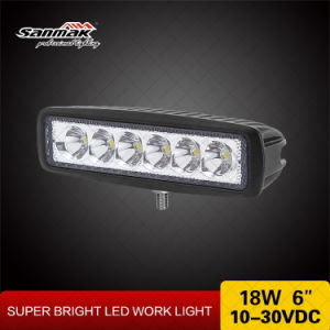 6LED 18W Offroad Marine LED Mini Light Bar pictures & photos