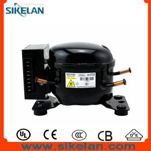 High Efficiency R600A DC Compressor 12V 24V Compressor Qdzy65g Lbp for Car Refrigerator Freezer pictures & photos