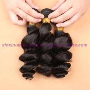 8A Grade Loose Wave Wefts, 8- 30 Inches Unprocessed Virgin Indian Hair Extensions pictures & photos