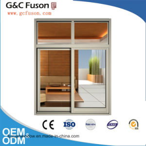 High Quality Aluminum Sliding Window with Mosquito Net pictures & photos
