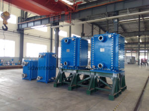 Industrial Stainless Steel 316L Plate and Frame Heat Exchanger/All Welded Plate Type Heat Exchanger/Block or Comblock Structure pictures & photos