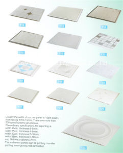 Suspended Ceiling Tiles PVC Ceiling Panel Interior Use pictures & photos
