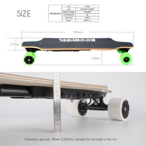 High Speed Koowheel Electric Skateboard (D3M) with Dual Hub Motors pictures & photos