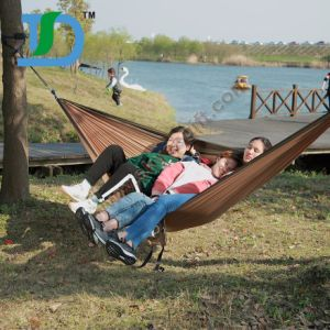 Wholesale Portable Outdoor Traveling Camping Nylon Fabric Hanging Hammock pictures & photos