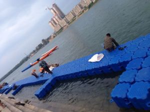 Floating Dock Plastic Pontoon Cubes pictures & photos