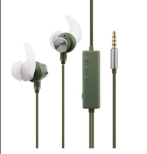 Headphones with Mic and Inline Control - Noise-Isolating in-Ear Monitor Earphones