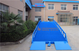 8ton 10ton Mobile Container Load Ramp (DCQY10-0.8) pictures & photos