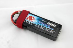 5200mAh 25c 11.1V Model Airplane Helicopter Battery pictures & photos