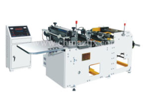 Zqd350 Automatic Label Cross Cutting Machine for Fabric pictures & photos