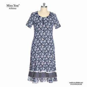 Miss You Ailinna 304838 Girls Floral Maxi Dress with White Lace pictures & photos