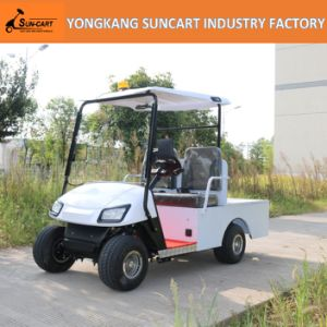 Wholesale 2 Seaters Electric Transport Cart, Small Transport Customized Golf Car pictures & photos