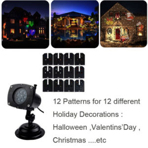 LED Moving Snowflake Garden Laser Projector Lamp Light Xmas Party Outdoor Decor pictures & photos
