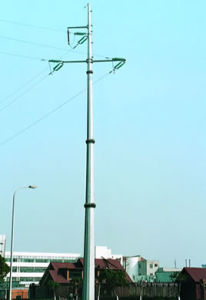 10kV 110kV 132kV Steel Tube Poles pictures & photos