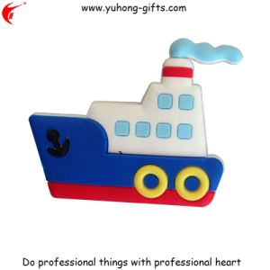 OEM Customized Boat Shape Refrigerator Magnet for Promotion (YH-FM126) pictures & photos