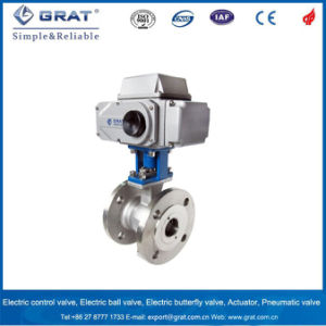 Metal Seat Full Port Floating Electric Ball Valve pictures & photos