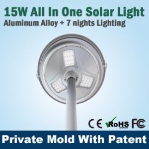 Sresky out Door Pole Mount Street Solar Light Tall Light Waterproof pictures & photos