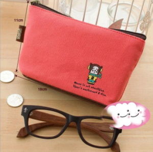Canvas Purse Cute Animal Thickening Simple Key Bag Multifunctional Bag Factory Direct pictures & photos